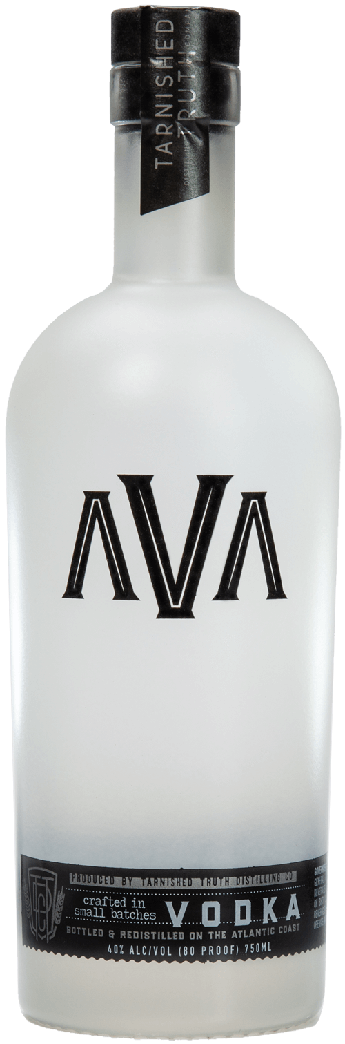 Bottle of Ava Vodka